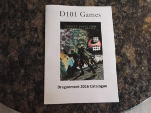 Front of the Dragonmeet catalogue