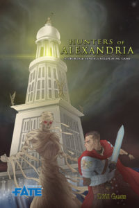 Hunters of Alexandria cover by Peter Frain
