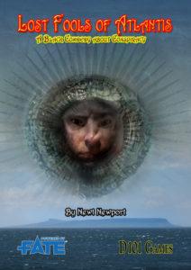 Lost Fools of Atlantis cover by Jon Hodgson
